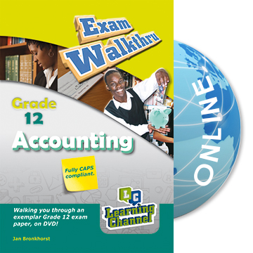 Grade 12 Exam WalkThru Accounting