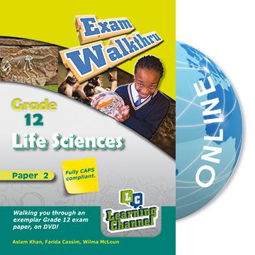 Grade 12 Exam WalkThru Life Sciences Paper 2