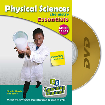 grade 11 and 12 essentials physical science chemistry dvd. Black Bedroom Furniture Sets. Home Design Ideas