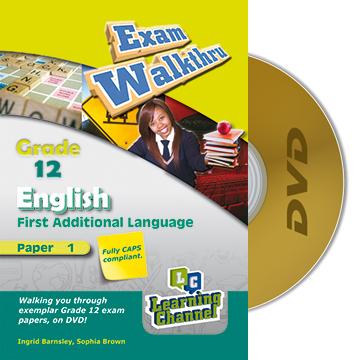 Grade 12 Exam WalkThru English FAL Paper 1