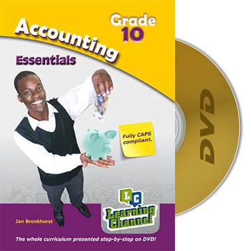 Grade 10 Essentials Accounting