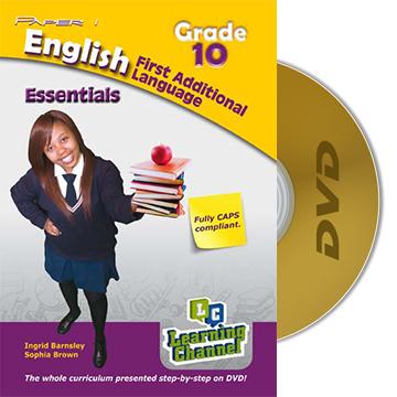 Grade 10 Essentials English FAL Paper1