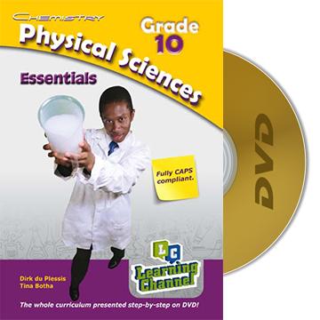 Grade 10 EssentialsPhysical Science Chemistry