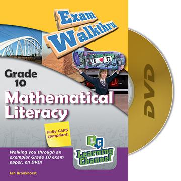 Grade 10 Exam WalkThru Mathematical Literacy